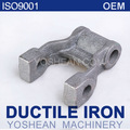 Grillete de ballesta laminado / orejeta de elevación / piezas de camión / pieza fundida de hierro dúctil GGG40