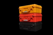 fashion environmental modified PP waterproof shockproof safety plastic flight case