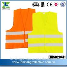 CE EN20471 ANSI high vis reflective safety vest LX602