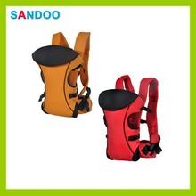 3 ways removable backpack sling wrap infant bag, trendy polyester baby carrier sling
