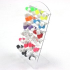 Fashion Body Jewelry Cute Earrings Color Matching Pill Design Resin Ear Studs