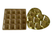 Thermoforming plastic chocolate tray