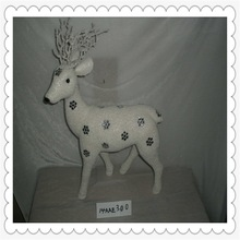 ornaments christmas xmas decorations christmas baubles vintage christmas theme decoration displayed stand deer