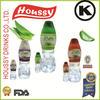 W- Fresh Pure aloe vera cube / Kosher certification/330ml slim bottle