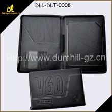 Zip Around Leather Tablet PC Holder Case