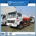 4x2 6 cbm de succión de aguas residuales de camiones, de succión fecales camión cisterna, de succión de aguas residuales de camiones cisterna sino howo
