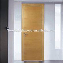 Flush Door Types and Wood Weneer Door Skin for Interior Door