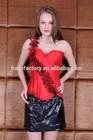 Plain Dyed Technics OEM service open hot sex women photo corset