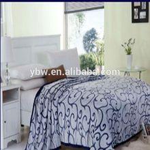2014 100% Polyester hot sale 3D carving Flannel fleece blanket