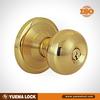 5790-PB SB-ET stainless steel material and door knob lock