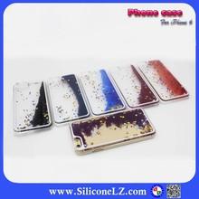 for iPhone 6 case Clear Plastic, liquid Quicksand Hard Plastic Case for apple iphone 6 64gb