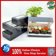 Meshine hot selling anti-fog film disposable paper sushi box