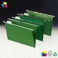 Papel de suspensión de la carpeta de archivos, Fc tamaño, 25 / caja, Estándar verde