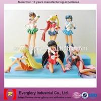 sexy anime figurine/Japanese anime character figurines/making pvc cartoon figures