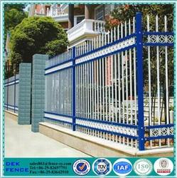 Safety Sample House Wrought Iron Short Fence
