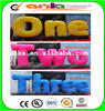 Hot sale custom giant inflatable letters for advertising