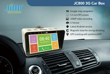 JIMI Factory Android GPS Navigation GPS Tracker 3G WIFI network HD1080P DVR Car PC Box digital video camera recorder