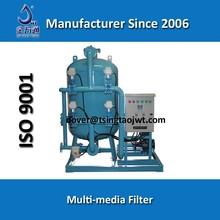 Multi media industrial water filter