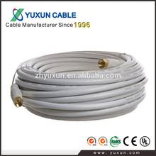 RG6 CCTV tv antenna connector cable