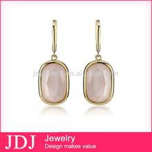 Hot Selling Fashion European Earrings Saudi Gold Jewelry