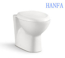 Bathroom ceramic two piece toilet chinese sanitary ware