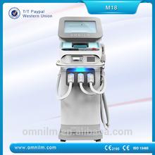 Newest professional IPL SHR skin rejuvenation equipment for beauty salon