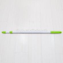 Floor cleaning telescopic elastic aluminum mop straight handle