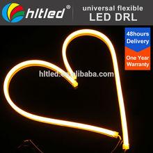 60cm Silicone LED Strip Lights Headlights Halo Daytime Running Lamp DRL DIY New Daytime Light
