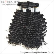 Deep Curl Hair, Virgin Human Peruvian Remy Hair Weave