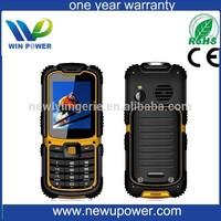 2015 hotsale sos flashlight quad band GSM buy cheap waterproof cell phone