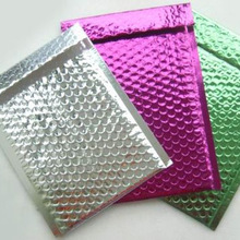 Aluminium foil padded bubble cushioned envelopes