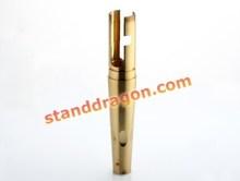 anodized aluminum cnc brass cnc milled precision metal parts