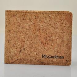 latest cork thin wallet