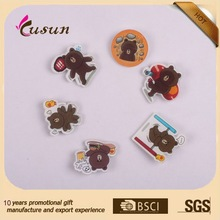 Different Bear Shaped Badges
