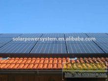 4KW PV solar do telhado que está apenas o projeto de energia solar para a construção