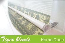polyester zebra blind