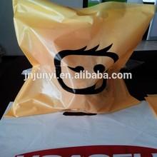 Customized print shopping bag HDPE/LDPE die cut plastic bag