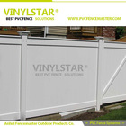 widely used strong pvc fence for home fence