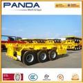 Alibaba Panda Extensively utilisé 20ft et 40ft conteneurs châssis remorque peut également être extensible