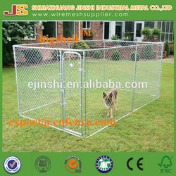 6'H x 5'W x 10'D galvanized Chain Link dog Kennel & dog run & dog fence panel