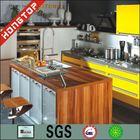 teak wood/black walnut/rosewood/ 2014 Modular kitchen cupboard price