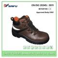 sf1305 marrom alta corte calçados masculinos de couro
