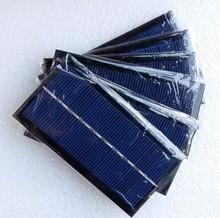 High efficiency 125*65mm 5V 1.5W mini poly/ mono silicon solar panel for solar led lights