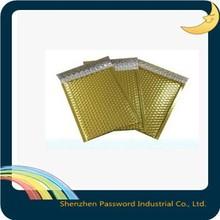 #5 Aluminum padded bubble envelope/ gold foil bubble bags