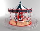 New design attractive amusement park rides carousel for sale