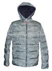 best selling european fashion hoody men's down jacket, trendy camouflage sports down wear