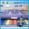 Violeta adorável Twister inflável brinquedo inflável entretenimento e jogo
