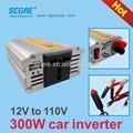 Dc 12 V AC 110 V 300 W del coche del poder más elevado 60 hz inversor convertidor