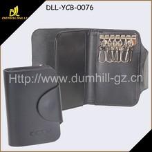 Leather Key Holder Wallet Case
