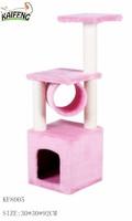 Eco-friendly New design indoor wooden pet cat house&colorful cat condo